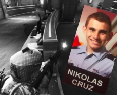 JROTC Cadet abs School Shooter Nik Cruz